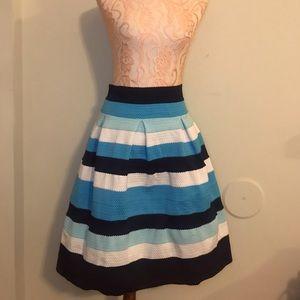 Long A-line skirt